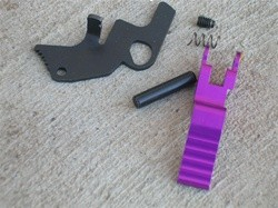 Rimfire Technologies 10/22 Magazine Pull Release Kit - Purple