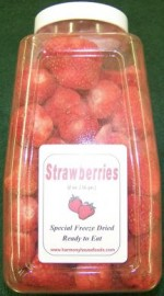 Harmony House Freeze Dried Strawberries