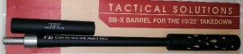 Tactical Solutions SB-X Barrel for the 10/22 Takedown - Black