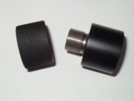 Volquartsen Thread Adapter w/ Thread Protector 1/2 x 28